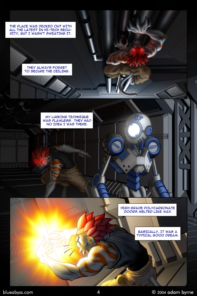 blueAbyss: Page 5 added
